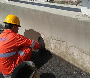 高速公路防撞墙