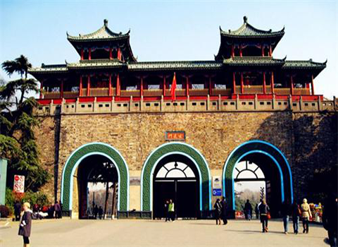玄武湖明城墙