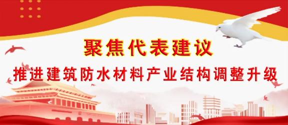 王刚代表:建筑渗漏根源在于防水产品的应用遇到了制度瓶颈