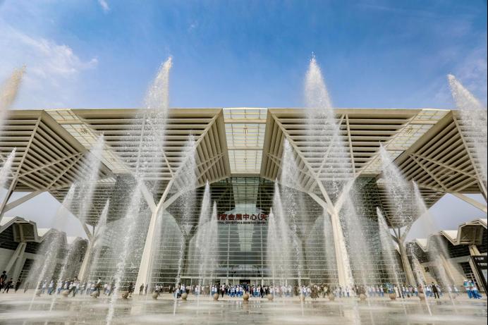 欧西亮相首届 GIB 博览会,推广绿色产品、助力实现双碳目标!
